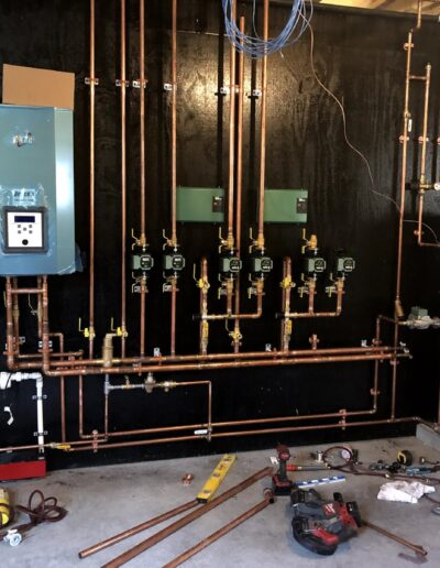 New Construction Heating System Install