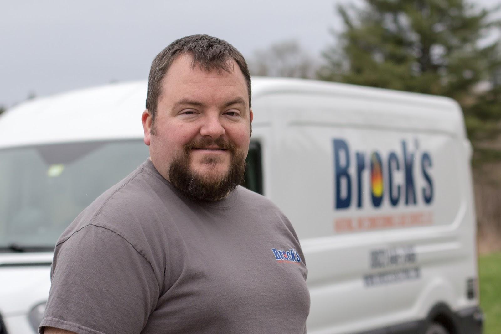 Sean Brock, Owner of Brock's Heating